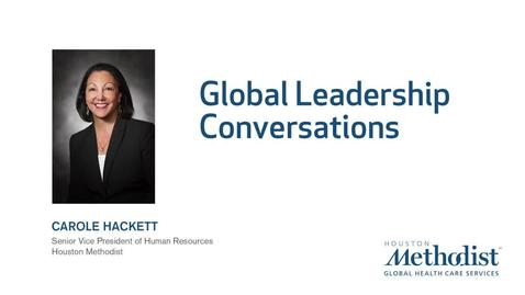 Thumbnail for entry Global Leadership Series with Carole Hackett, SVP HR 12.13.19