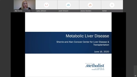 Thumbnail for entry Liver Center WebEx CE Series Metabolic Liver Disease