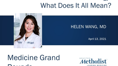 Thumbnail for entry Food Allergies with Dr. Helen Wang - 04.13.21