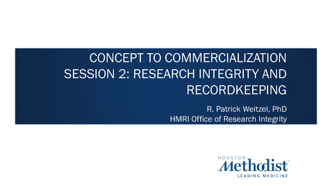 Thumbnail for entry 02- Research Integrity and Documentation 06.23.21