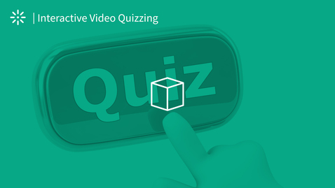 Thumbnail for entry Interactive Video Quiz - Taking a Quiz