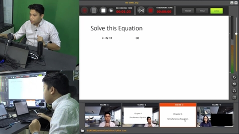 Thumbnail for entry pStudio - Simultaneous Equation