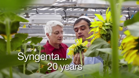 Thumbnail for entry 20 years of Syngenta