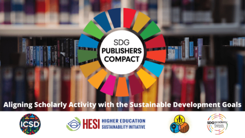 Thumbnail for entry SDG Publishers Compact: Aligning Scholarly Activity with the Sustainable Development Goals