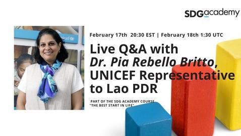 Thumbnail for entry Q&A | Pia Rebello Britto | 2021 Feb. 17