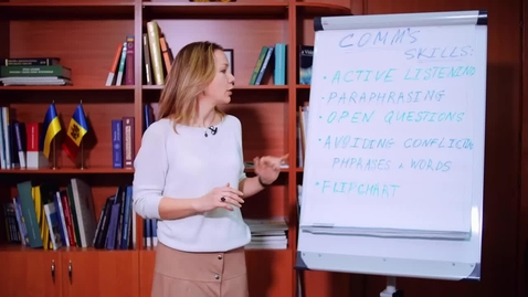Thumbnail for entry Case Study: Use of Flipchart in Negotiation: A Case from the Dniester River