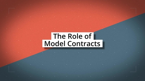 Thumbnail for entry The Role of Model Contracts