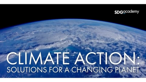 Thumbnail for entry Climate Action: Solutions for a Changing Planet –Trailer