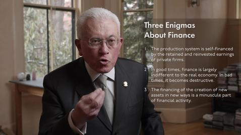 Thumbnail for entry Finance and the Real Economy