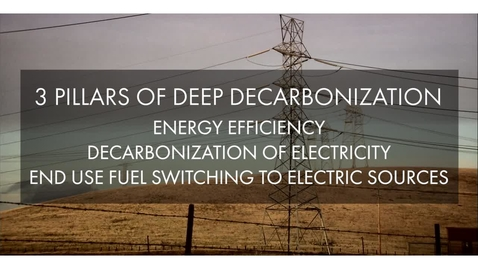Thumbnail for entry Challenges in the Decarbonization Transition