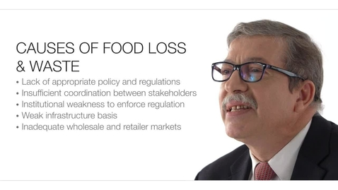 Thumbnail for entry Challenges for Food Loss and Food Waste and Opportunities for Reduction