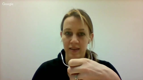 Thumbnail for entry Q&A   Sophie Thomashausen   2016 Apr. 14