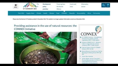 Thumbnail for entry  International governance initiatives
