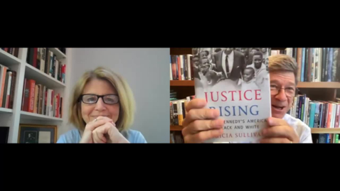 Thumbnail for entry Conversation with Patricia Sullivan, Justice Rising