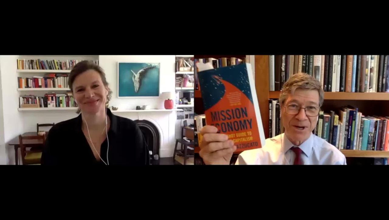 Conversation with Mariana Mazzucato, Mission Economy