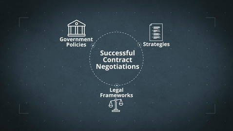 Thumbnail for entry The Legal Framework and Roles of Contracts