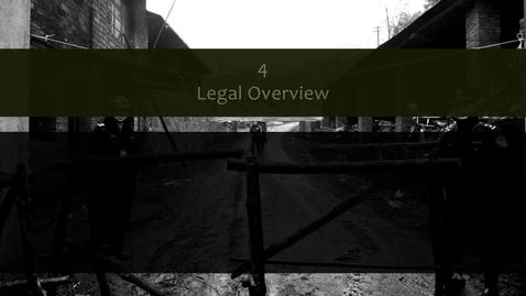 Thumbnail for entry Legal and Regulatory Frameworks for Extractive Industries