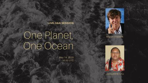Thumbnail for entry Q&A | Martin Visbeck & Jacqueline Uku | 2020 May 14