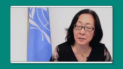 Thumbnail for entry Interview with Mami Mizutori, UNDRR