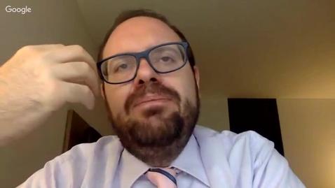 Thumbnail for entry Q&A | Guilherme Canela Godoi | 2018 Nov. 9