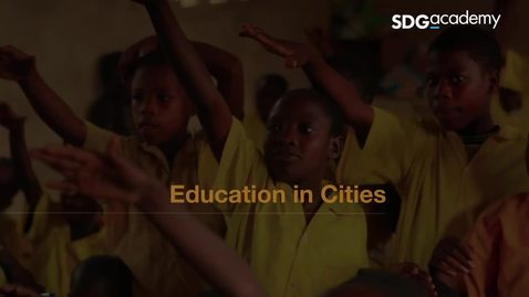 Thumbnail for entry Education in Cities