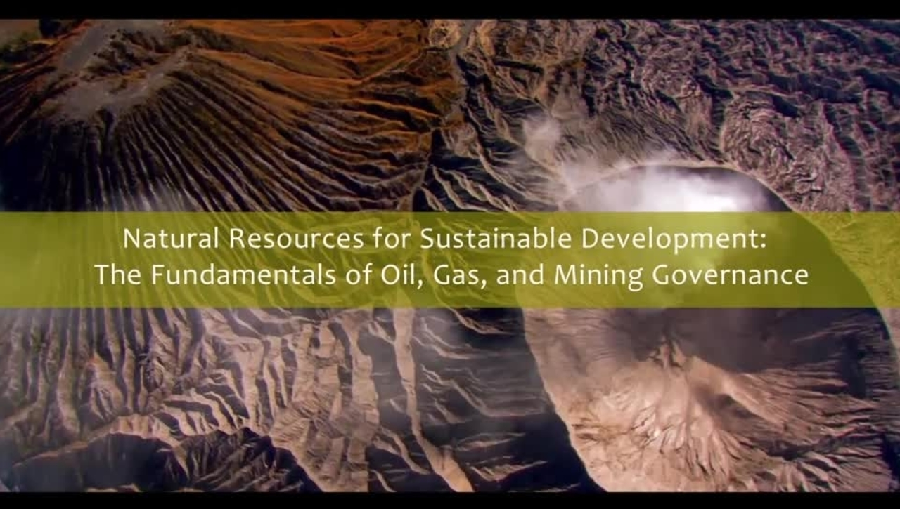 Natural Resources for Sustainable Development - Trailer