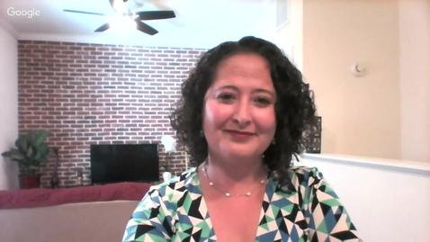 Thumbnail for entry Q&A  Cristina Villegas   2017 Apr. 4