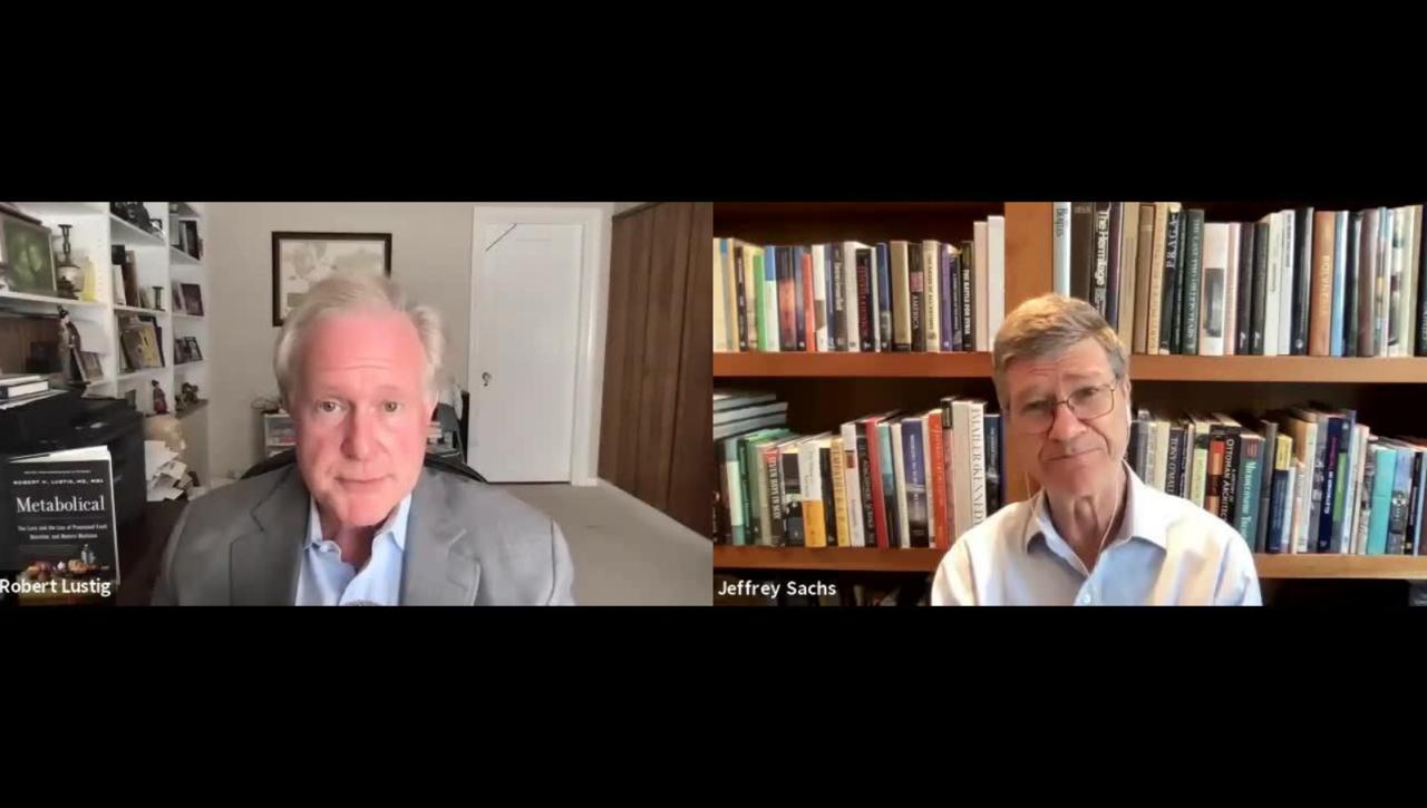 Conversation with Robert Lustig, Metabolical