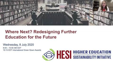 Thumbnail for entry Where Next? Reimagining Further Education for the Future