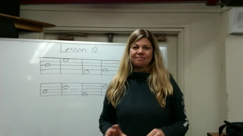 Thumbnail for entry 1st Music Lesson 12