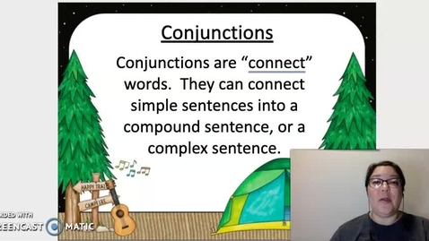 Thumbnail for entry Coordinating Conjunctions