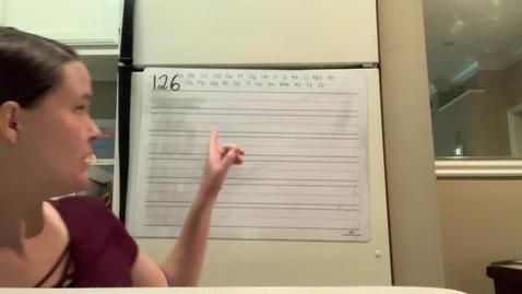 Thumbnail for entry Spelling Lesson 126