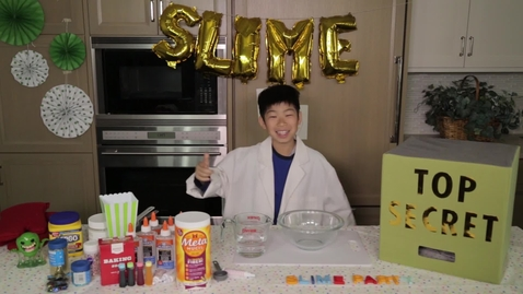Thumbnail for entry DIY Slime Recipe with LEGOS!!