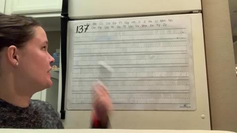 Thumbnail for entry Spelling Lesson 137