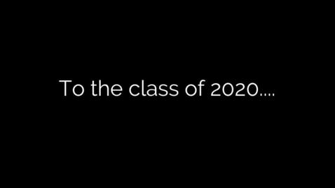 Thumbnail for entry Class of 2020 Senior Broadcast - Mehville Media