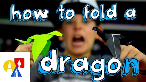 Thumbnail for entry How To Fold An Origami Dragon