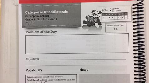 Thumbnail for entry SWUN Grade 3 Unit 9 Lesson 1