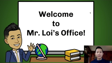 Thumbnail for entry Principal Loi's Message to Students: March 31, 2020