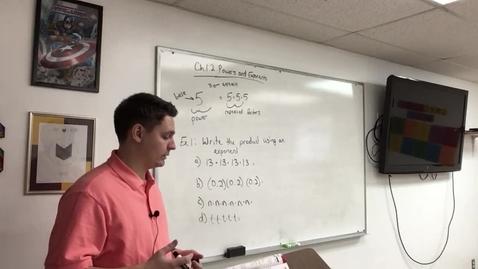 Thumbnail for entry Pre-Algebra 8/19/20
