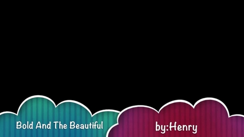 Thumbnail for entry The Bold and the Beautiful