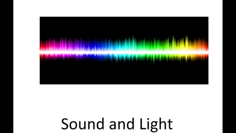 Thumbnail for entry Characteristics of Sound