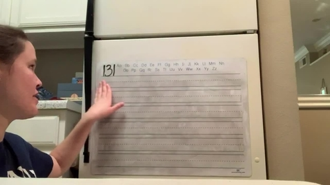 Thumbnail for entry Spelling Lesson 131