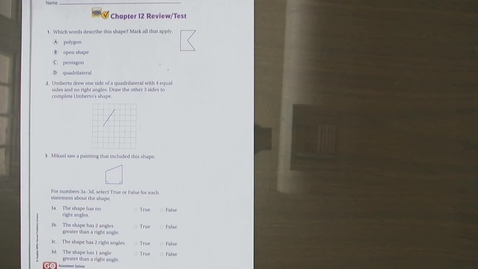 Thumbnail for entry Third Grade Math Ch. 12 review