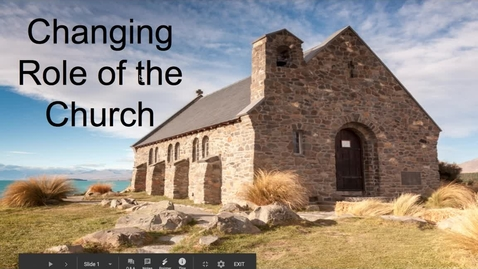 Thumbnail for entry Changing Role of the Church - April 20th 2020, 1:42:36 pm