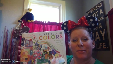 Thumbnail for entry Pocket Full of Colors - Mrs. Cleveland