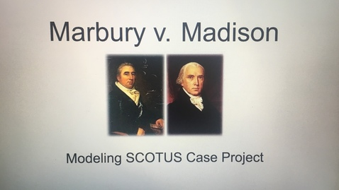 Thumbnail for entry Mr. O the History Pro - Marbury v. Madison