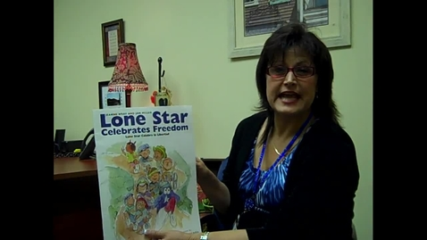Thumbnail for entry Lone Star Celebrates Freedom Read by Mrs. Lambert