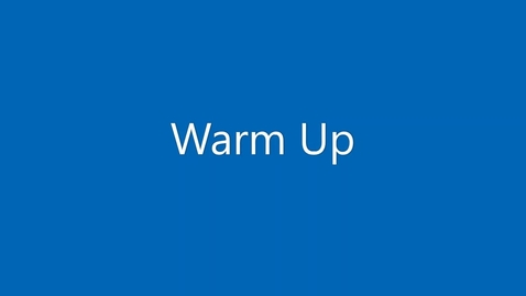 Thumbnail for entry Functional Warm Up Introduction