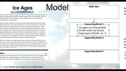 Thumbnail for entry Key Details & Main Idea - non-fiction text 1