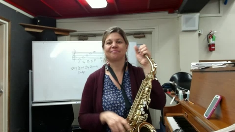 Thumbnail for entry Elem. Band Alto Sax. Sectional May 18-22